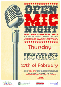 Open Mic Letterkenny_27th feb 14