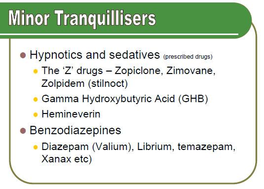 MinorTranquillisers1