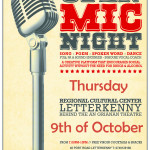 Open Mic Letterkenny 9th oct 2014